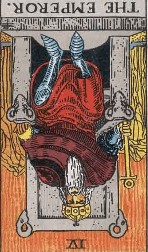 The Emperor Reversed Tarot Card Meanings - ALL Explained HERE!