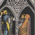 Tarot card - The Three of Pentacles