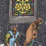 Tarot card - The Five of Pentacles