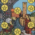 Tarot card - The Ten of Pentacles