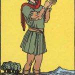 Tarot card - The Page of Pentacles