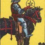 Tarot card - The Knight of Pentacles
