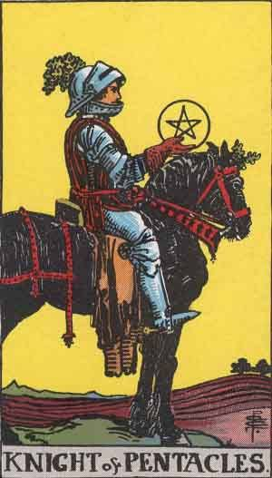 Knight of Pentacles Tarot Card Meanings - All Explained HERE!