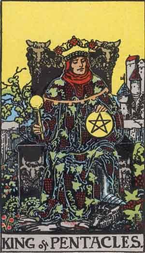 Tarot card - The King of Pentacles