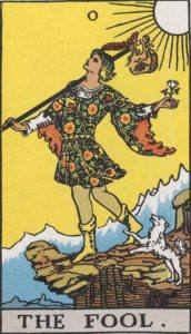 The Fool, Tarot card
