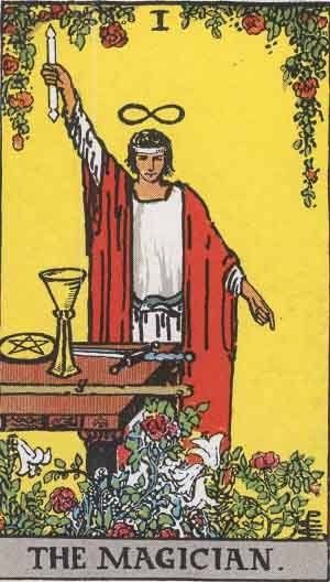 Tarot card - The Magician