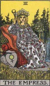 Tarot card - The Empress