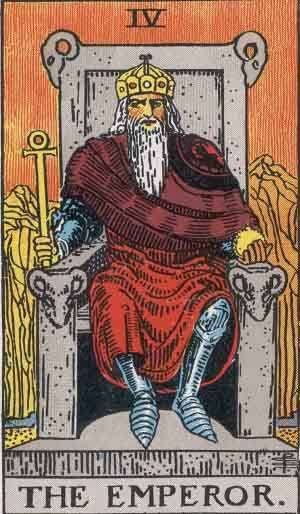 Tarot card - The Emperor