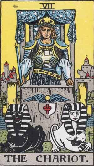 Tarot card - The Chariot