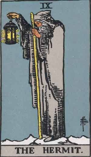 The Hermit Tarot Card Meaninings - ALL Explained HERE!