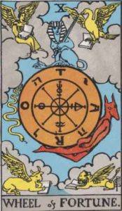 Tarot card - Wheel of Fortune