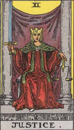 Justice Tarot Card Meanings - All Explained HERE!