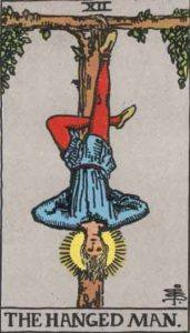Tarot card - The Hanged Man