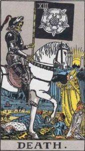 Tarot card - Death