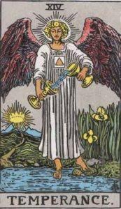 Tarot card - Temperance