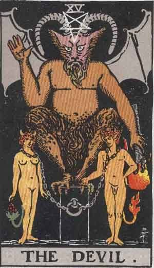Tarot card - The Devil