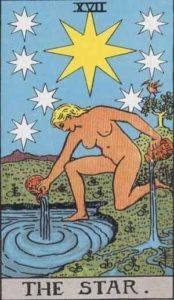 Tarot card - The Star