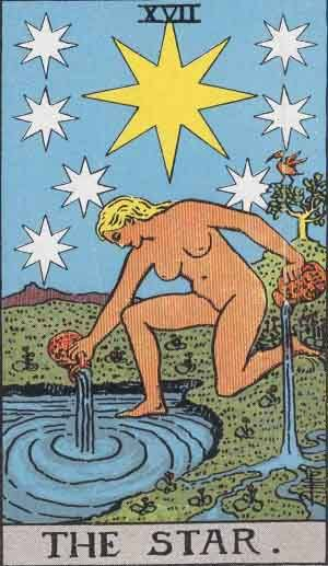 The star tarot