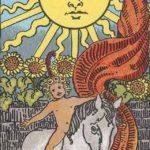 Tarot card - The Sun