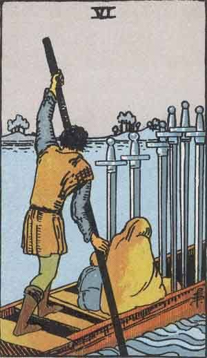 Six of Swords Tarot Card Meaning - All Explained HERE!
