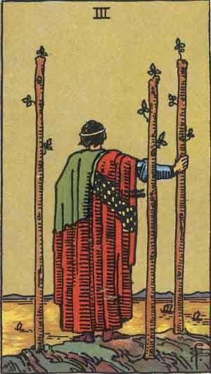 Three of Wands Tarot Card Meanings - All Explained HERE!