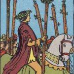Tarot card - The Six of Wands