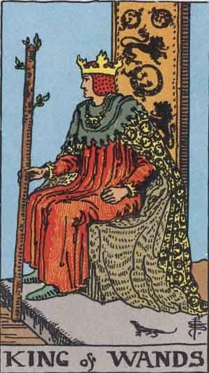 Tarot card - The King of Wands
