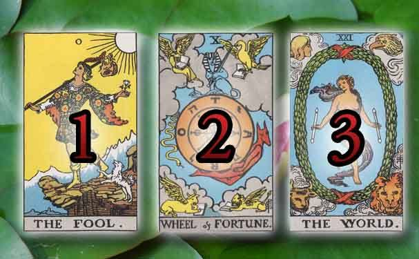 tarot past present future