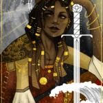 The Queen of Swords Commision piece