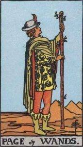 Page of Wands Tarot Card Meaning - All Explained HERE!