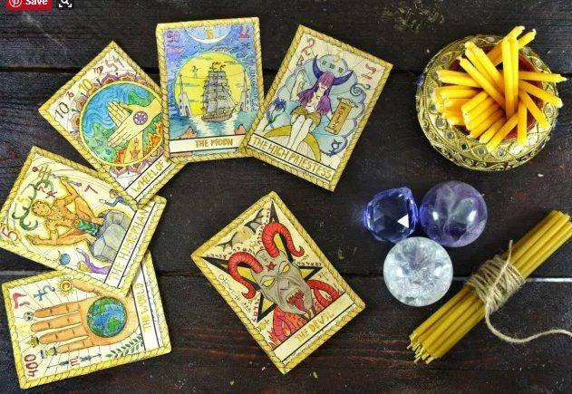 magic tarot cards