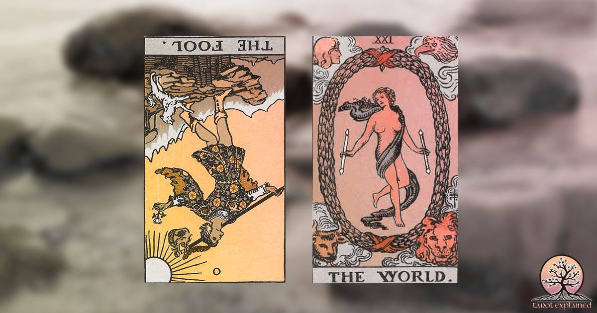 upside down tarot cards